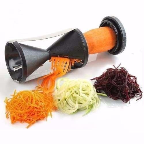 cortador de vegetais legumes espiral descascador fatiador