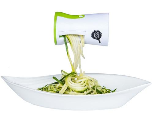 cortador de vegetales en tiras o espiral ayudante de cocina