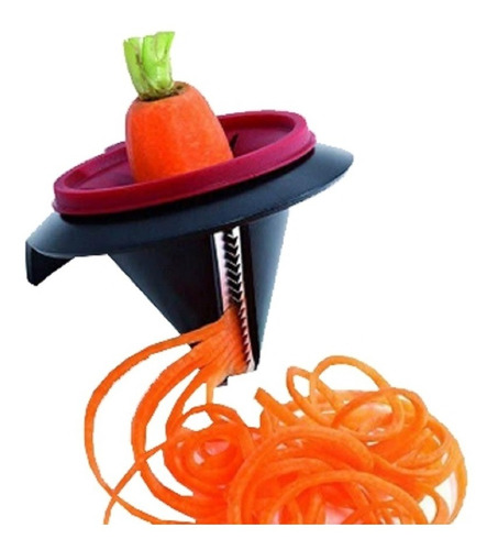 cortador de verduras espiral fideos rallador