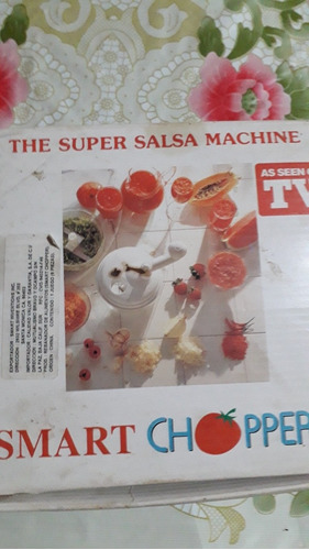 cortador de verduras super salsa machine