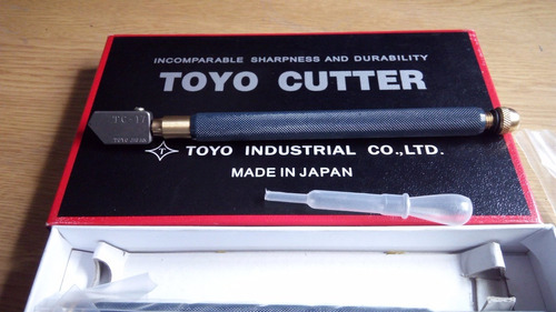 cortador de vidrio toyo tc-17 profesional, envio gratis