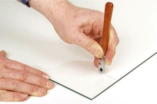 cortador de vidro caneta corte de vidro com 6 videas