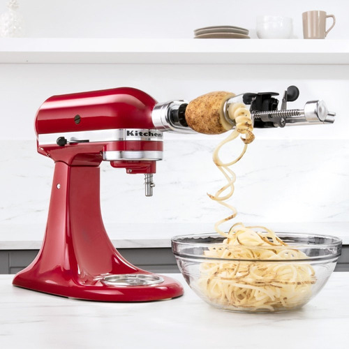 cortador en espiral accesorio para batidora kitchenaid