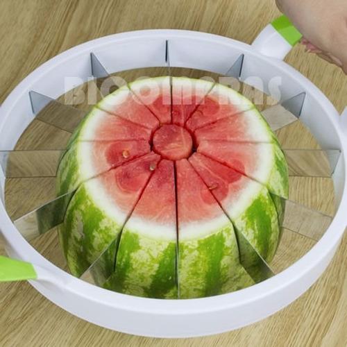cortador fatiador 28cm p/ frutas melao melancia bolos grande