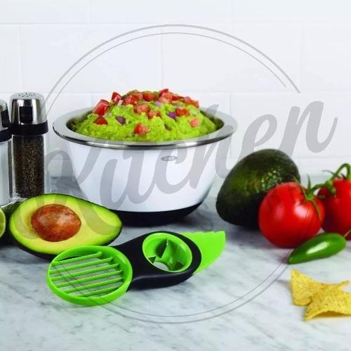 cortador fatiador de frutas abacate avocado slicer oxo