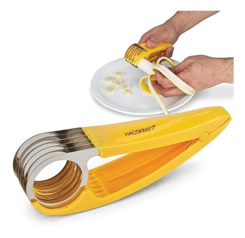 cortador fatiador de frutas legumes lâminas aço inox prático