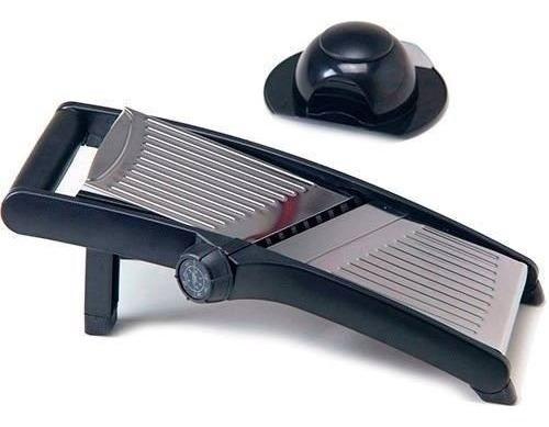 cortador fatiador mandoline com 5 opções de corte ecolumi