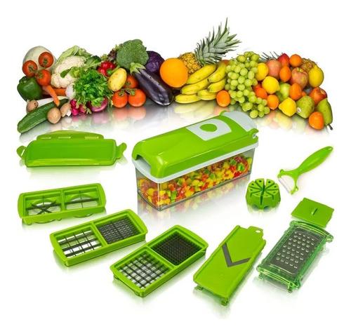 cortador fatiador manual legumes batata nicer dicer plus