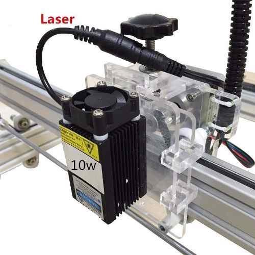 cortador grabador laser 10w cnc corte motor nema publicidad