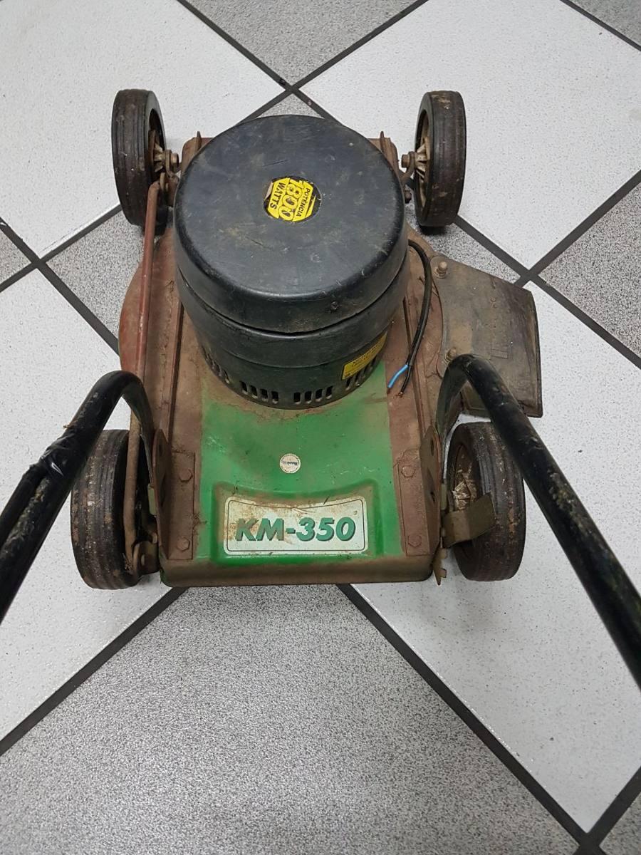 cortador de grama el trico trapp km350 220v 1 800w defeito