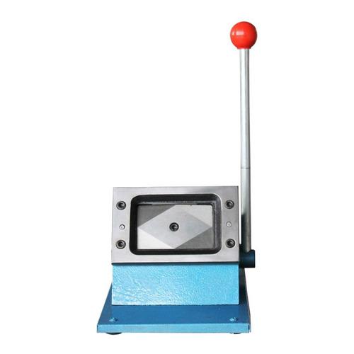 cortador manual mesa 86 x 54 mm cartão crachá pvc plástico