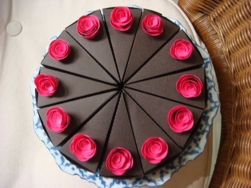 cortador marcador  bolos e tortas com 12 pedaços veja video