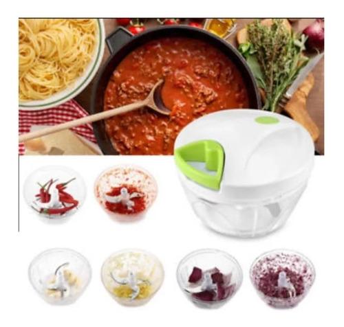 cortador para verdura manual food chopper picador salsa