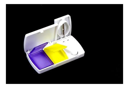 cortador pastillas y pastillero dividir almacenar medico