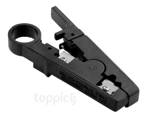 cortador pelacables universal para lan cables de telefono