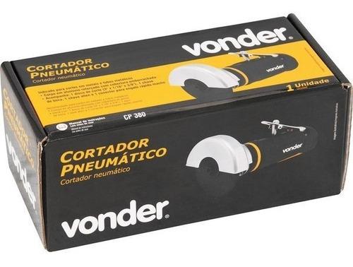 cortador pneumático 3  5,5 pcm 1/4  npt cp380 - vonder