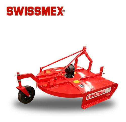 cortadora agrícola de precisión rotativa 1.6 m swissmex