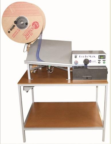 cortadora automática de duplo anel (wire-o) cortemax