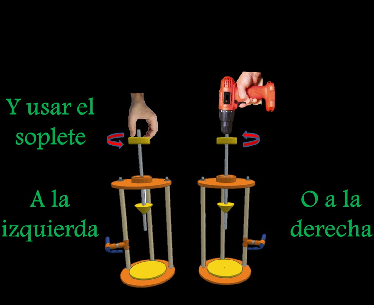 Cortadora botellas vidrio con mini soplete de precisi n for Cortador de vidrio