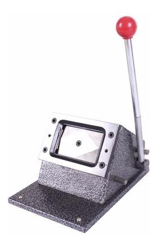 cortadora carnet mesa troquelador troquel guillotina circulo