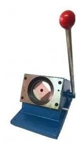 cortadora carnet troquelador boton 5x5 guillotina circular
