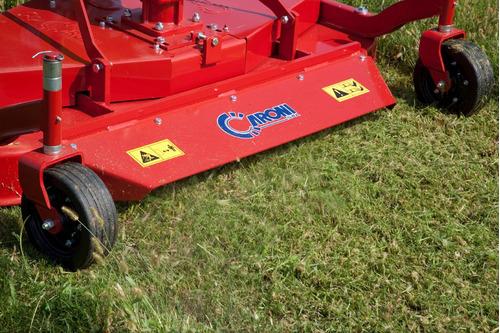 cortadora césped caroni de 1,20 m ancho de corte, p/tractor