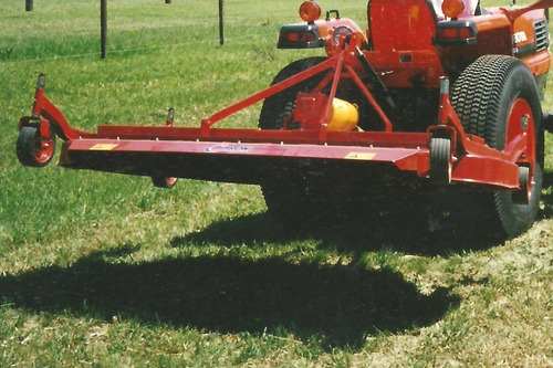 cortadora césped caroni de 2,35 m ancho de corte, p/tractor