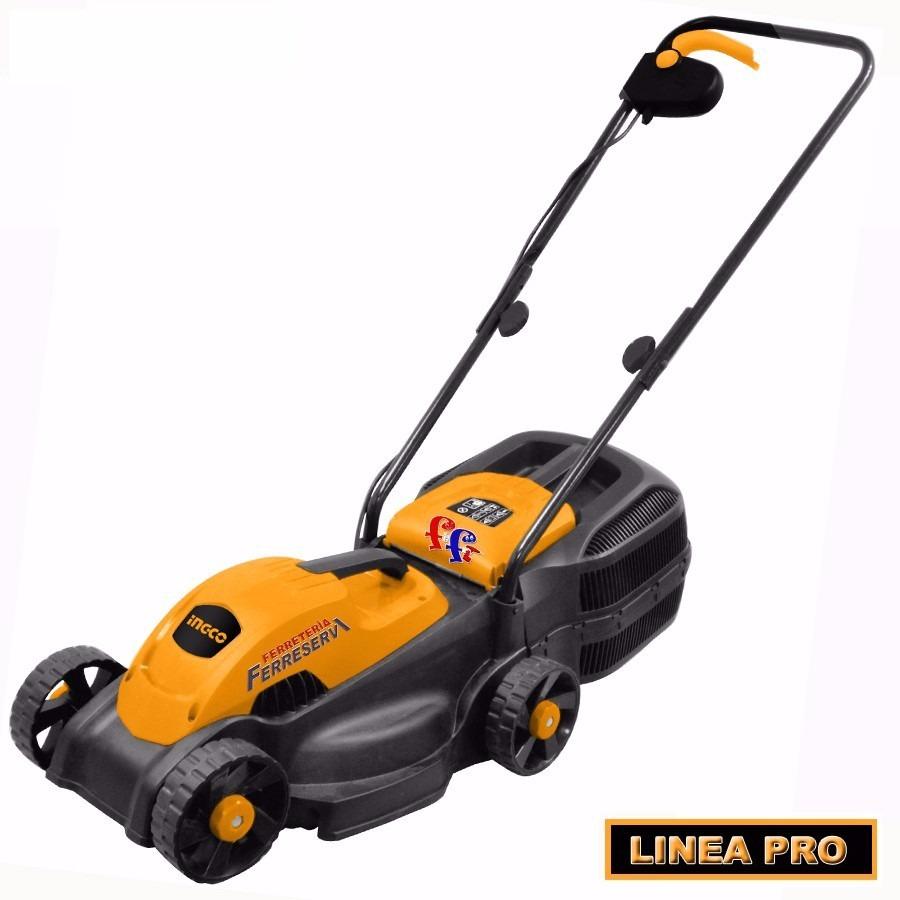 Ff cortadora cesped pasto 38cm electrica 1600w ingco lm385 - Cortadoras de cesped electricas ...