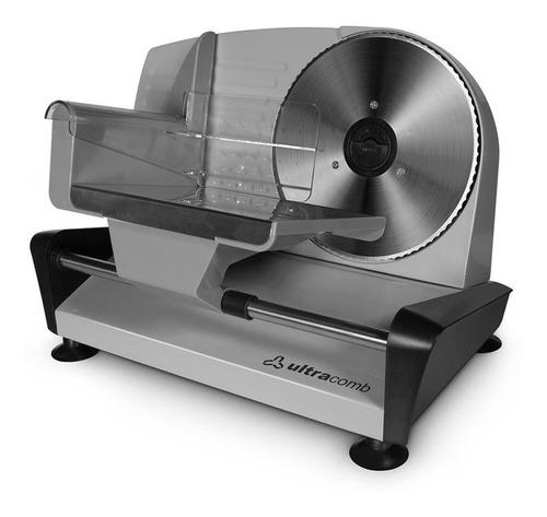 cortadora de alimentos y fiambres ultracomb fs-6301 150w pce