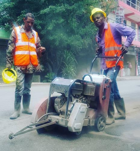 cortadora de asfalto