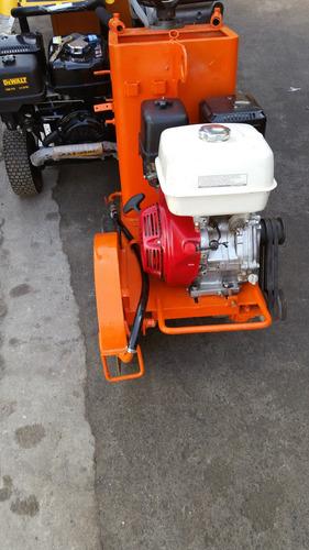 cortadora de asfalto con motor honda