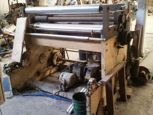 cortadora de bobinas papel o carton a hojas o pliegos