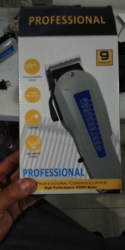 cortadora de cabello professional corded clipper v5000, nuev