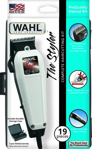 cortadora de cabello wahl the styler 17 piezas