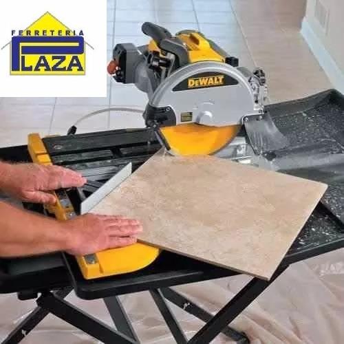 cortadora de cerámica eléctrica dewalt d24000 1600w