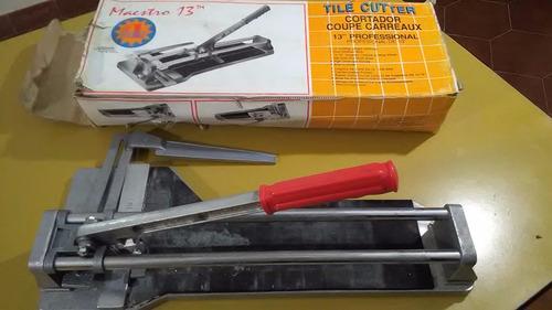 cortadora de cerámicos manual
