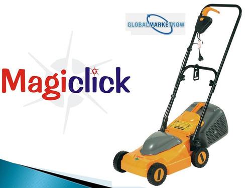 cortadora de césped 1000 w magiclick c/recol. super oferta