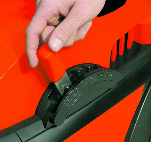 cortadora de cesped 1600w black + decker gr3800