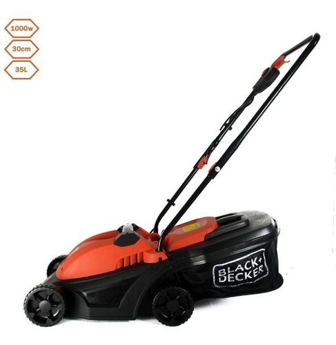 cortadora de césped black + decker gr3050 / byp