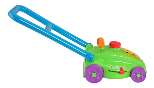 cortadora de césped de juguete ríe y aprende fisher