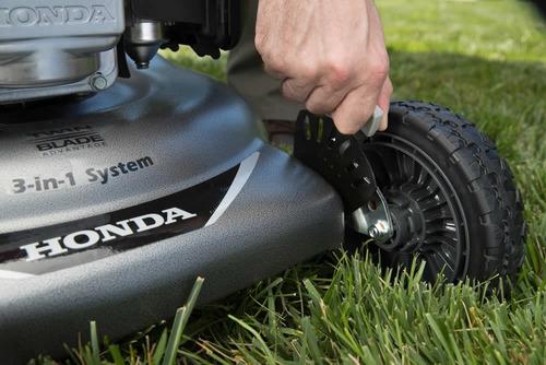 cortadora de césped honda 3en1 5.5hp autopropuls. hrr2169vka