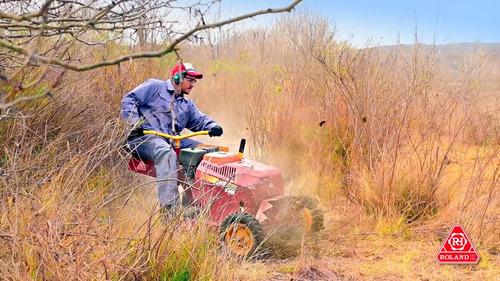 cortadora de césped malezas y arbustos roland h001 evo 13hp