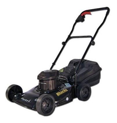cortadora de cesped petri 1 hp 1700 w con bolsa modelo black