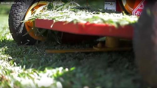 cortadora de cesped y malezas roland h001 std con honda 13hp