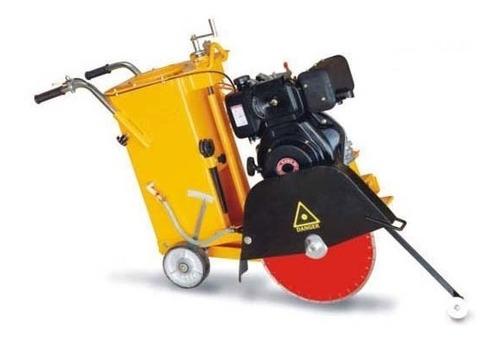 cortadora de concreto y asfalto diesel disco 16