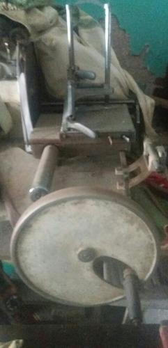cortadora de fiambre antigua