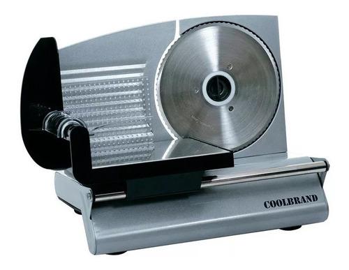 cortadora de fiambre coolbrand acero inox md 8080