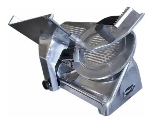 cortadora de fiambre moretti 330 acero inoxidable hoja 33 cm