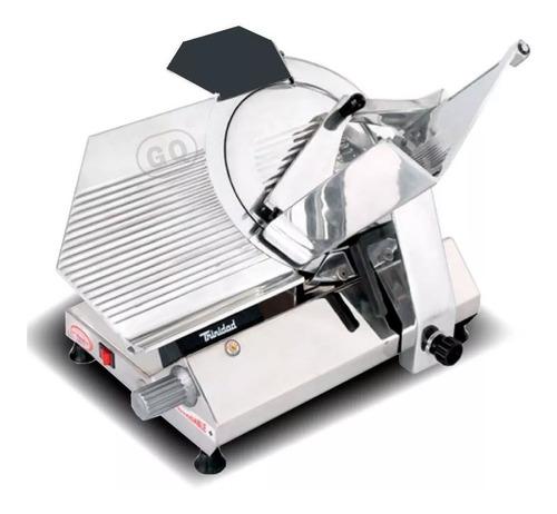 cortadora de fiambre trinidad 330 acero - envio gratis