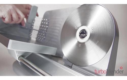 cortadora de fiambre turboblender tb-c19 uso domestico